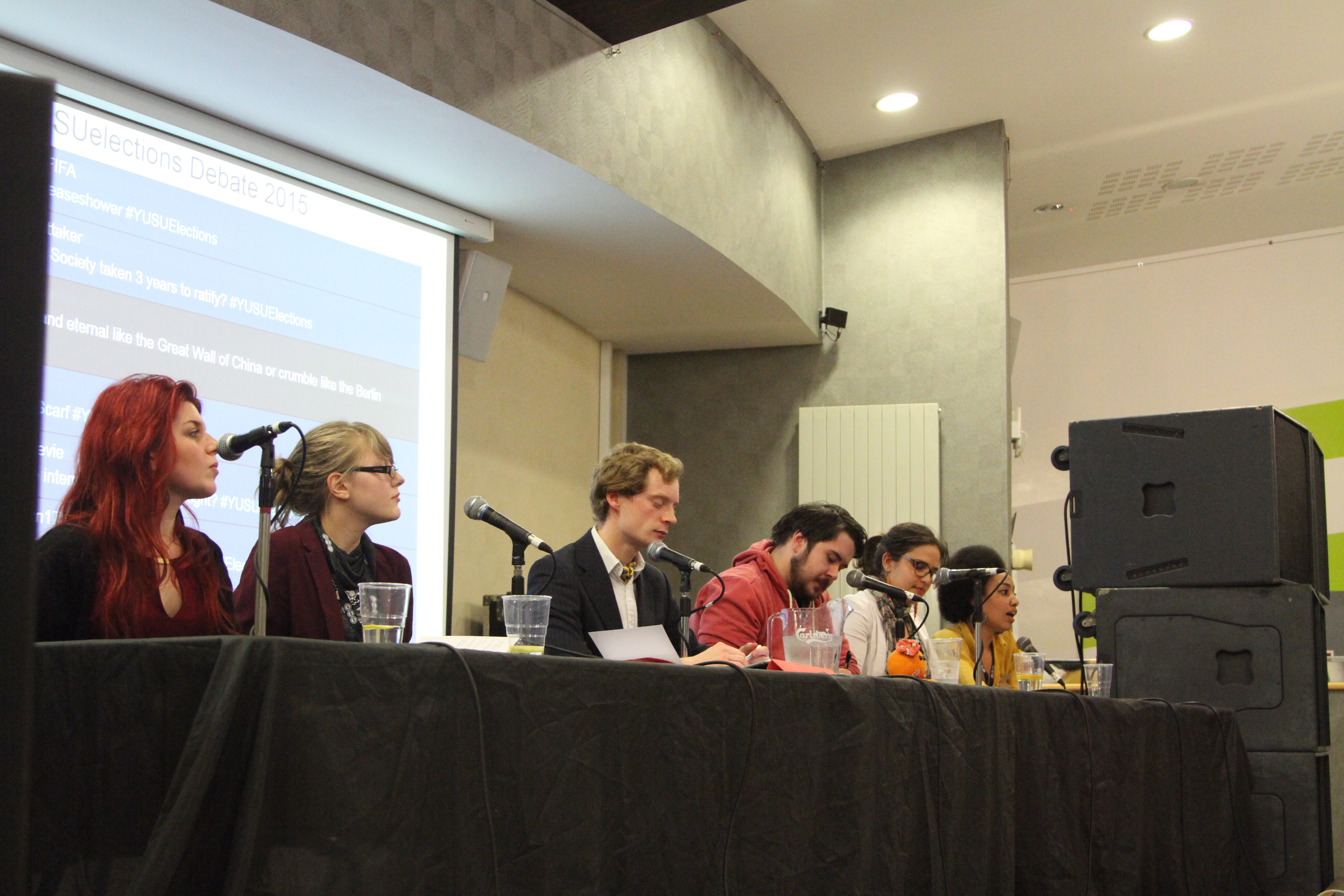 Full Time Officers Debate 2015: In Pictures