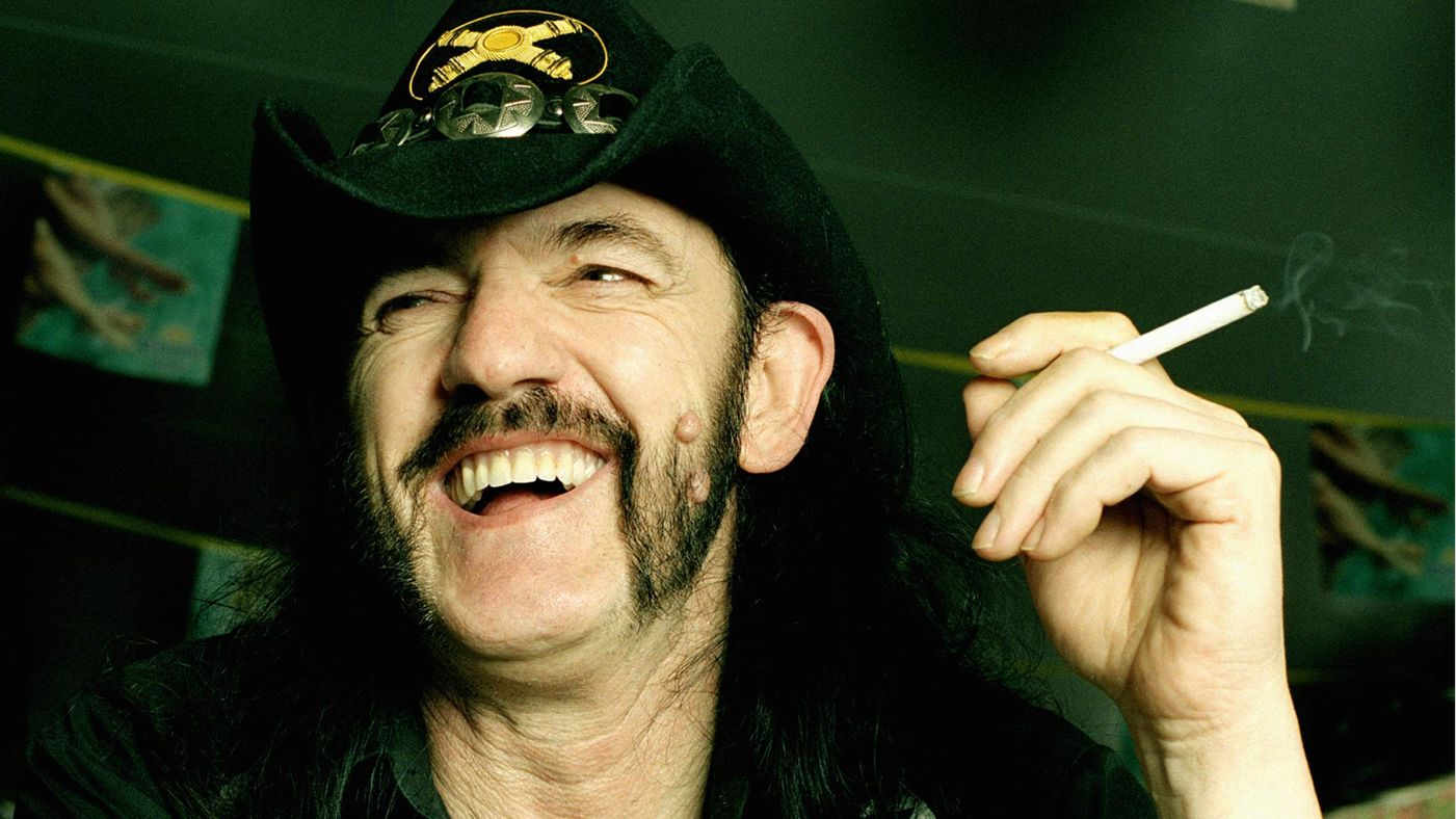 A tribute to Lemmy: 49% Motherfucker, 51% Son of a Bitch