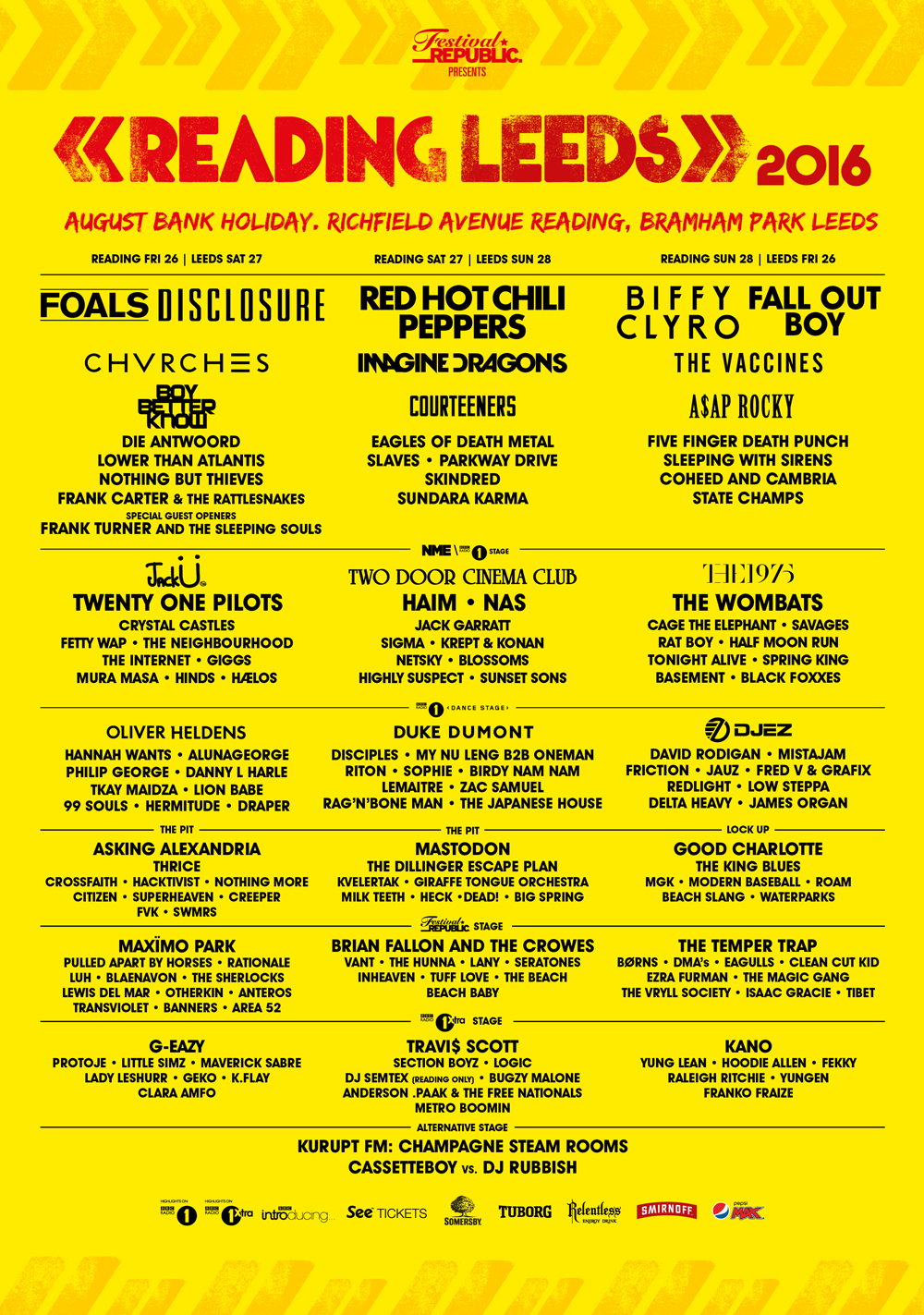 Festivals 2016: Reading and Leeds Festival - Preview