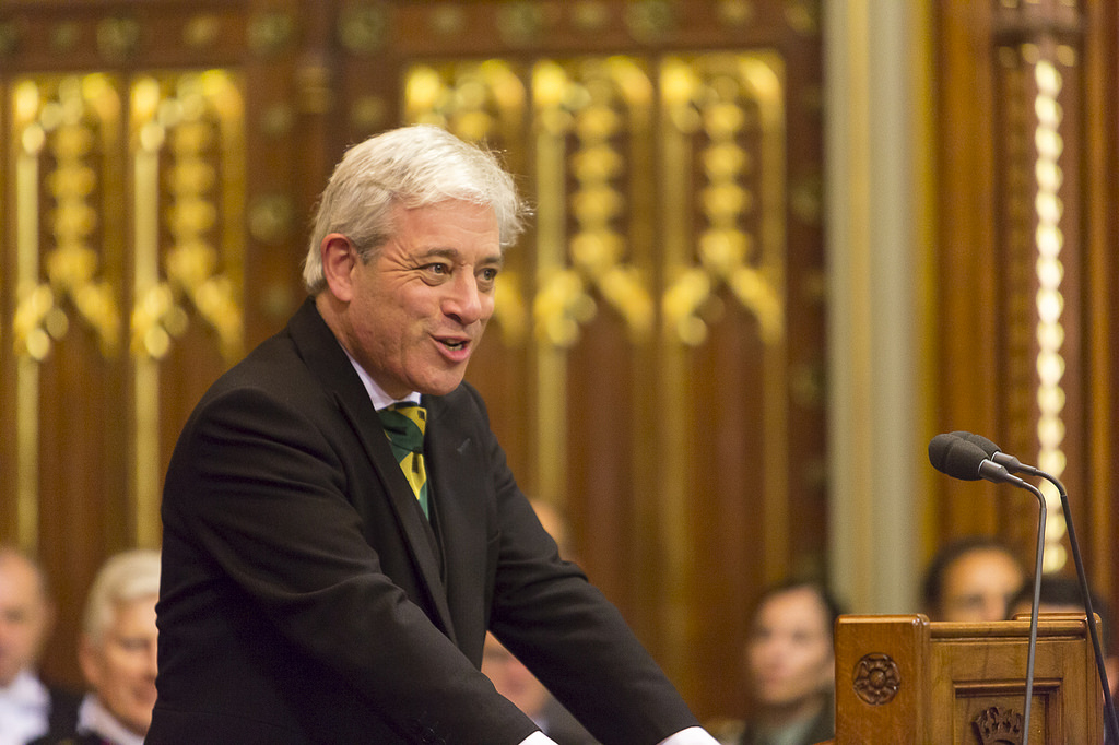 Comment: Bercow was right to oppose Trump
