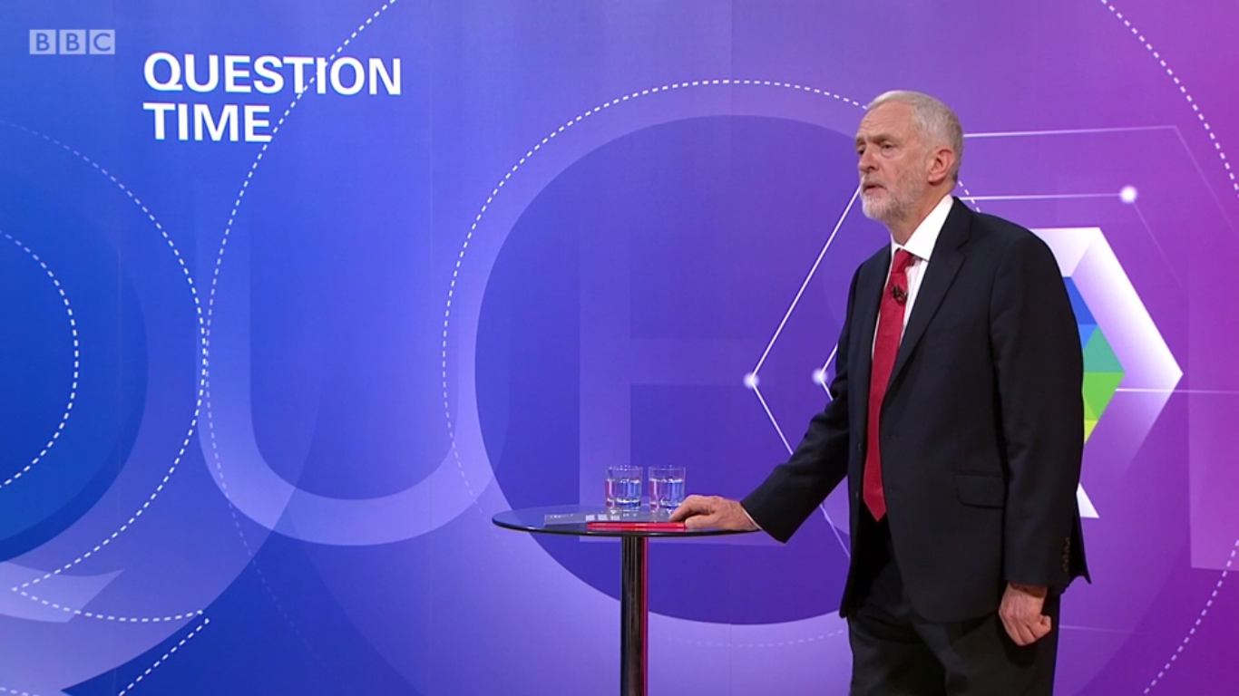 Question Time: Corbyn falls for May's traps on spending plans, national security