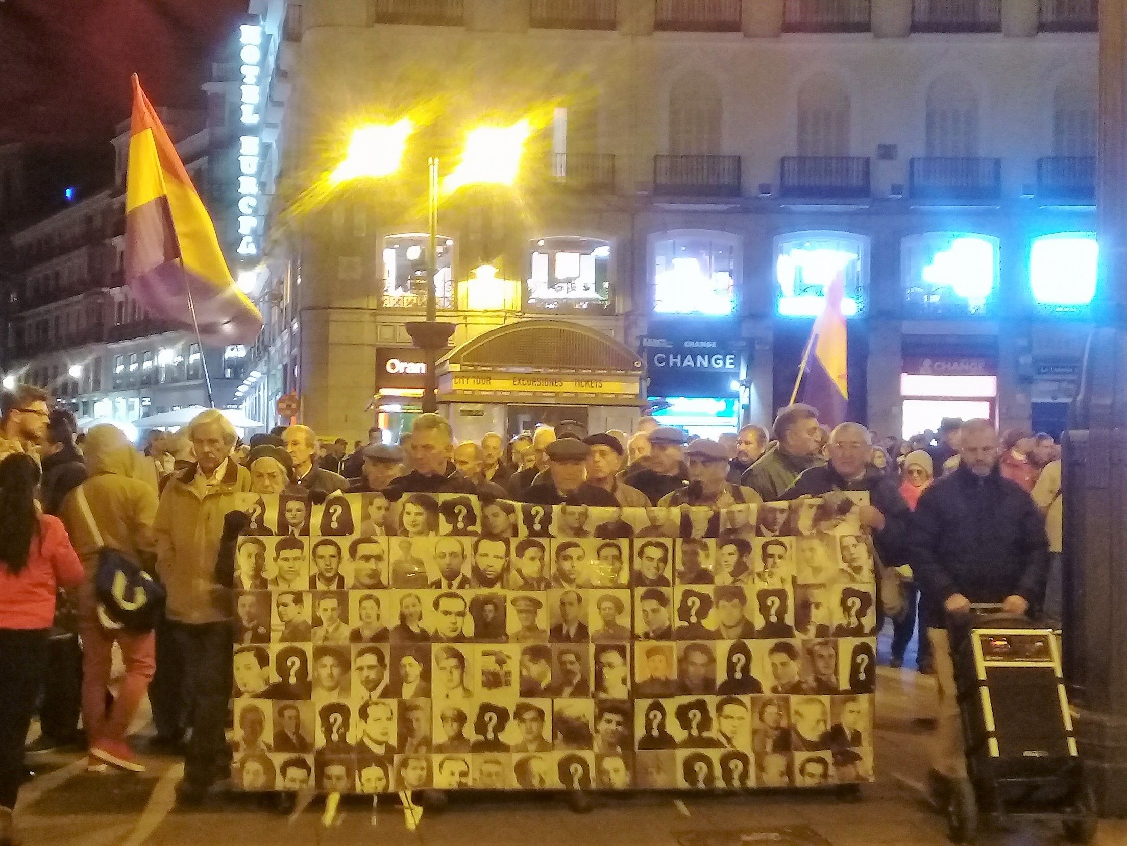 Legacy of Franco: Human Rights organizations take the spot in Madrid