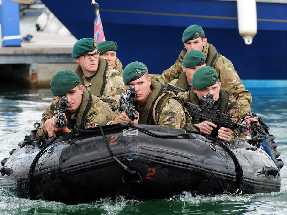 Cuts to Marines could threaten UK's defence