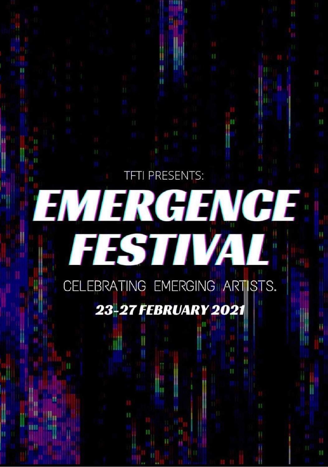 Celebrating emerging talent in difficult times