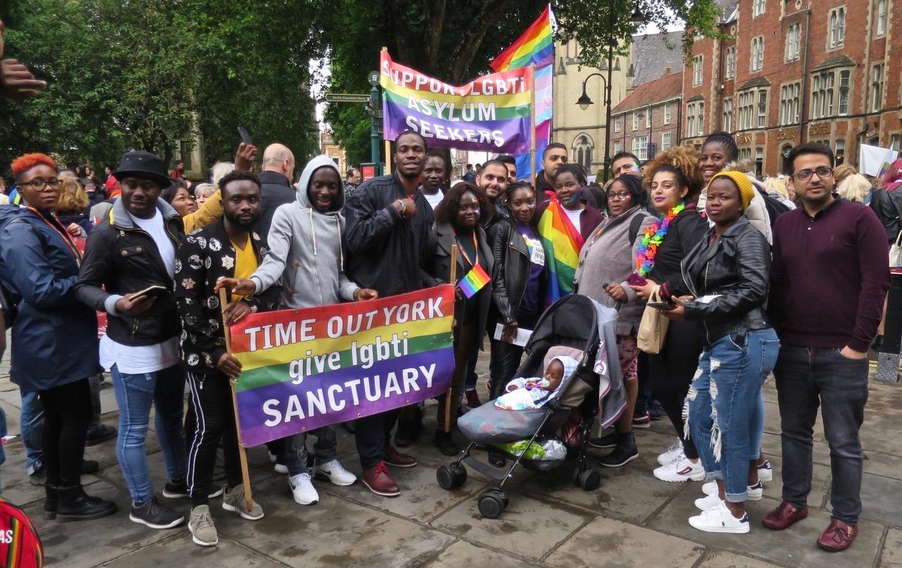 Time to Be Out: LGBT+ Asylum Seekers facing the Home Office in a year of Brexit and Covid-19