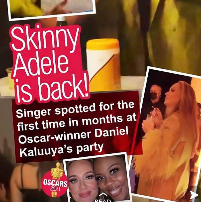 """""""Skinny Adele is back!"""" – Will Adele ever be defined separately from her weight again?"""