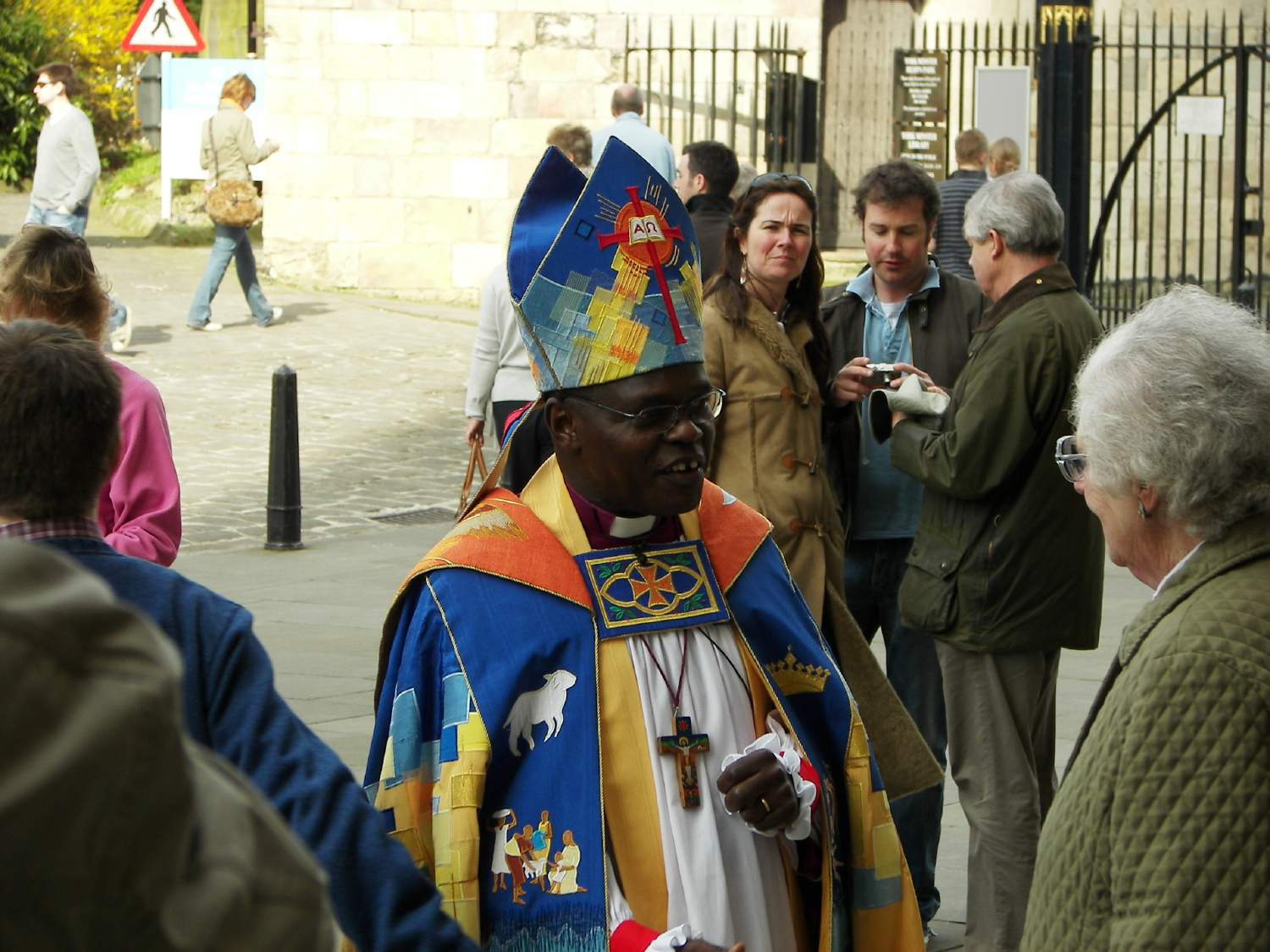 Government reverses its decision on John Sentamu's peerage.