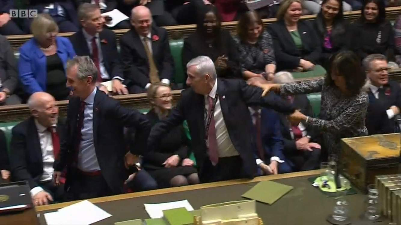 Sir Lindsay Hoyle elected the next Speaker of the House of Commons