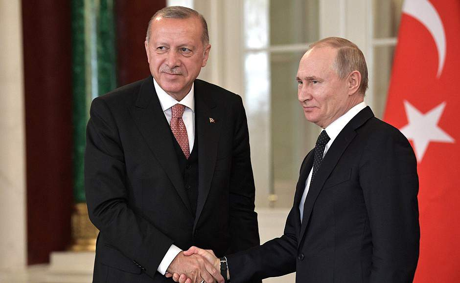 Erdogan's offensive in Syria endorsed by Russia