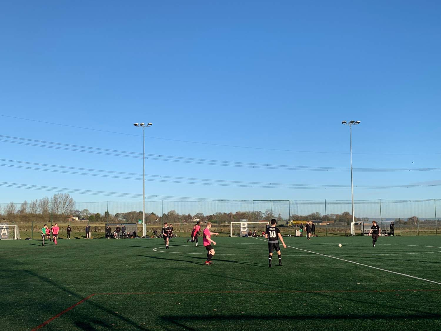 JCFC and CAFC draw in first game of Spring Term