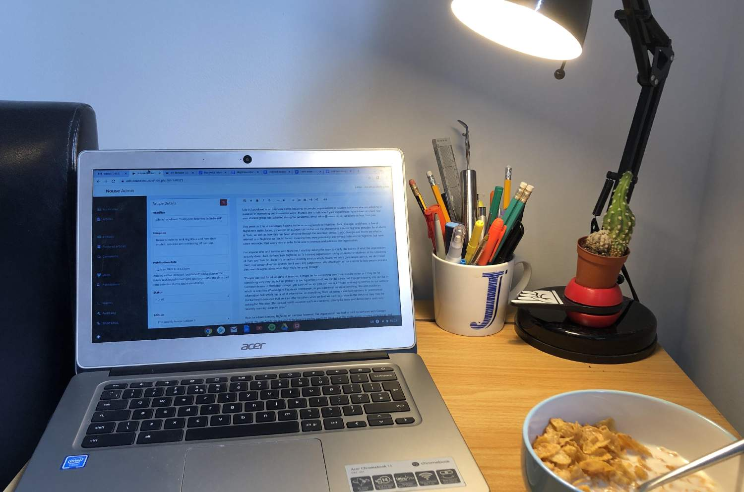 Editor's Note: Coping mechanisms