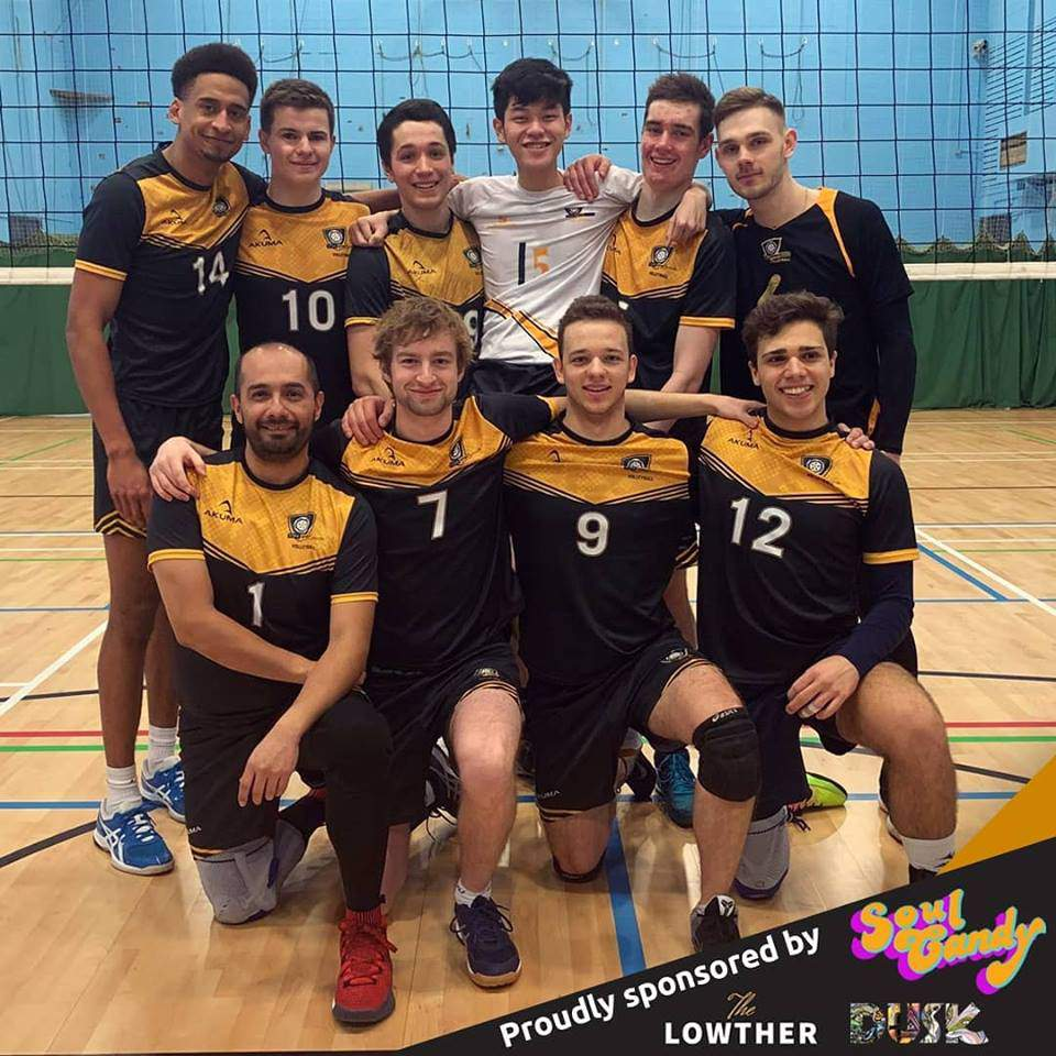 Men's Volleyball 1s qualify for cup final