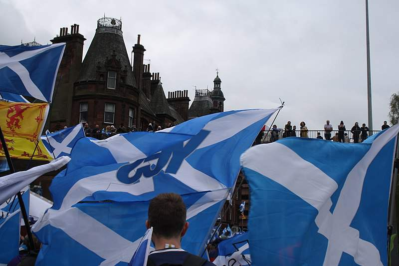 Support for Scottish independence continues to surge.