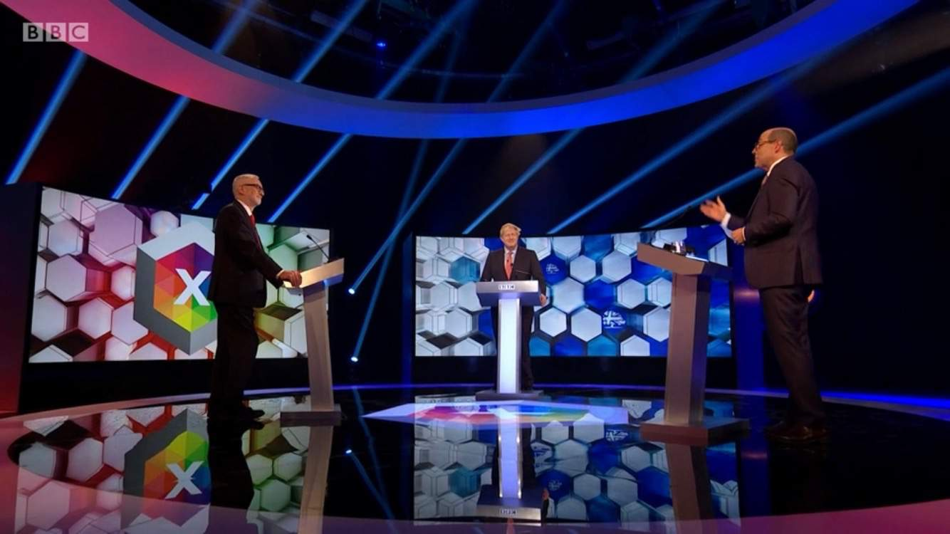 Boris Johnson and Jeremy Corbyn battle it out in a double bill of debates